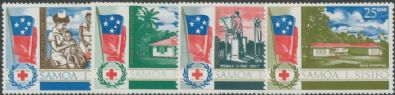 Samoa SG290-3 South Pacific Health Service set of 4